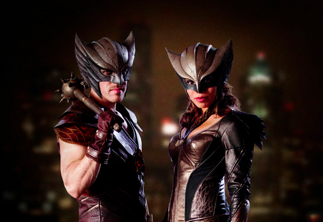 DC Reveal Hawkman And Hawkgirl In Costume