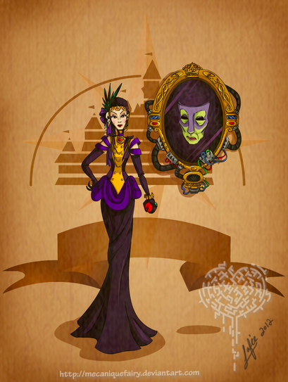 Steampunk Disney Villains