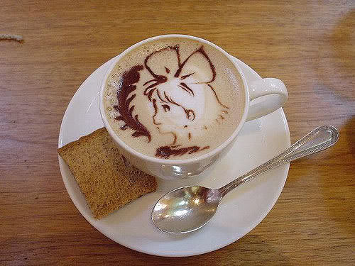 Kiki Coffee Art