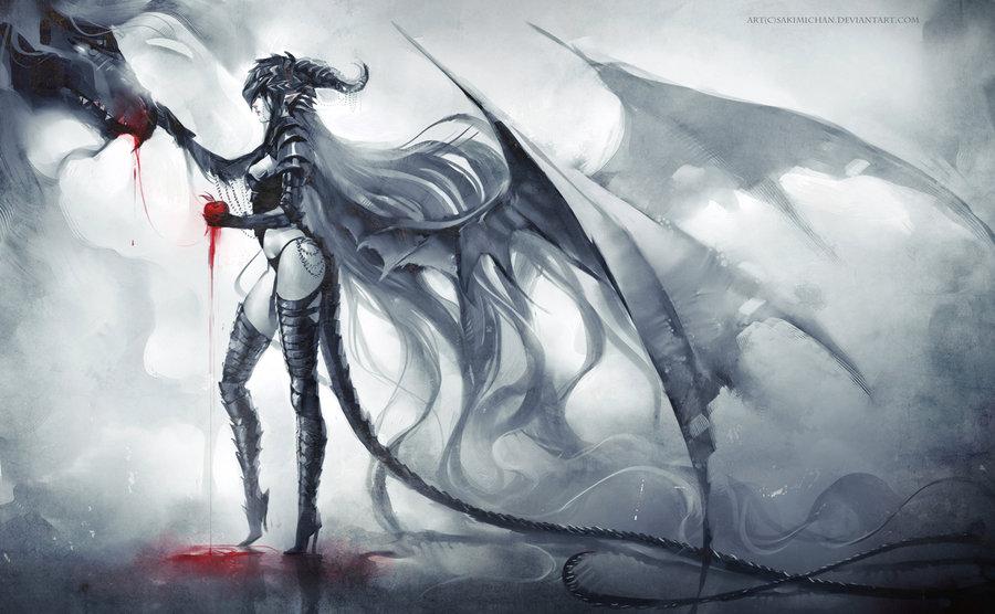 dragon_mama_by_sakimichan-d3myx73