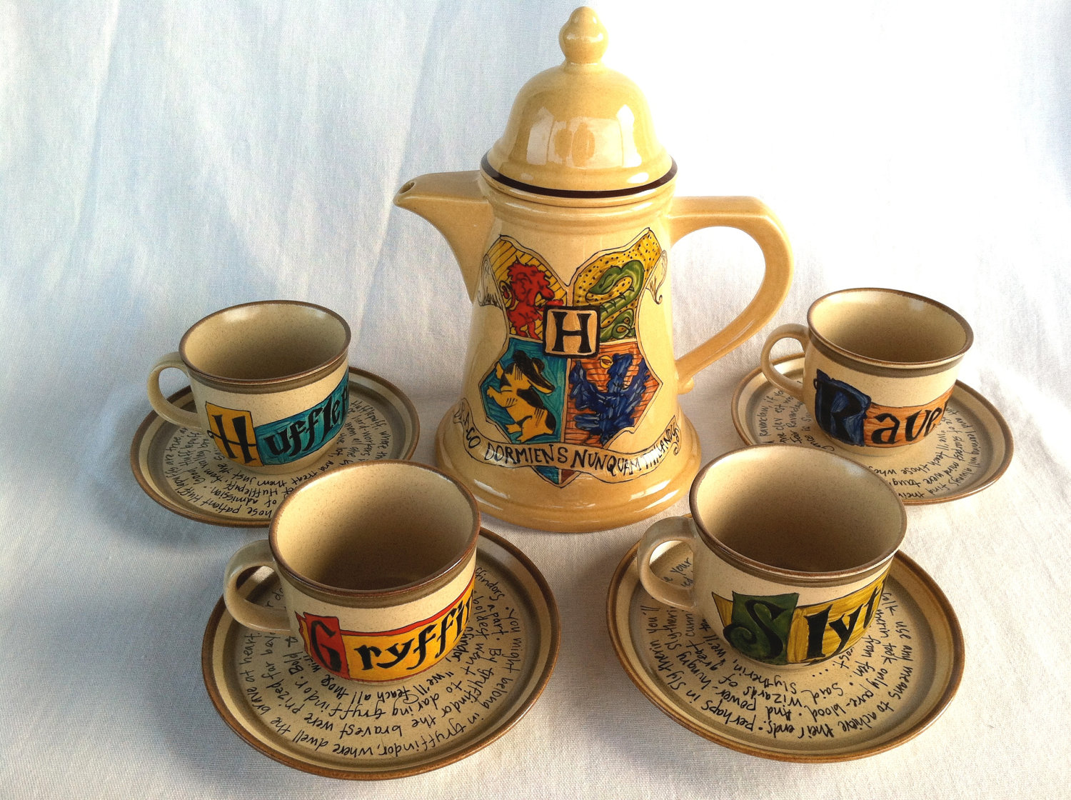 Harry Potter Tea Set