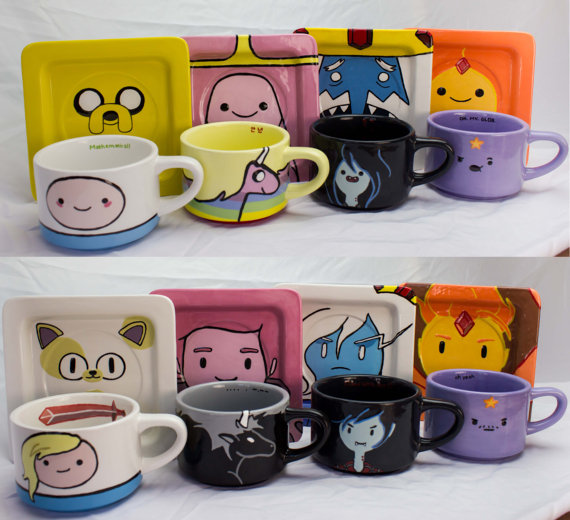 Adventure Time Tea Cup Set
