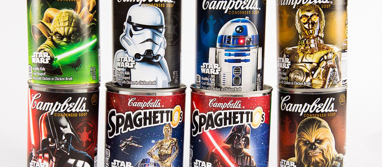 Campbell's Star Wars Soup Advert Warms Hearts