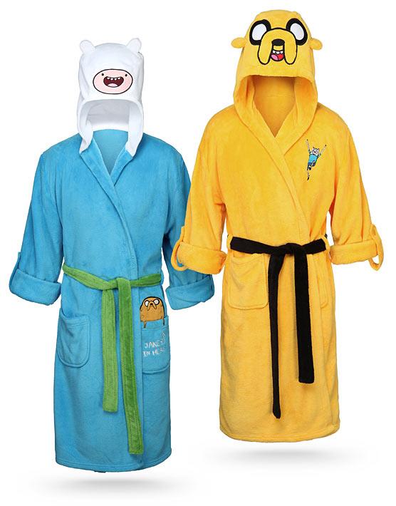 Bath Robes - Adventure Time - ThinkGeek