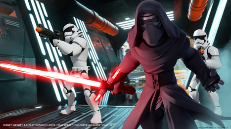 Kylo Ren And Poe Are Set For Action In Disney Infinity 3.0