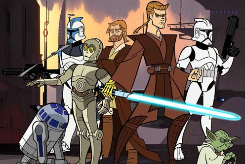 Forgotten Childhood: Star Wars: Clone Wars
