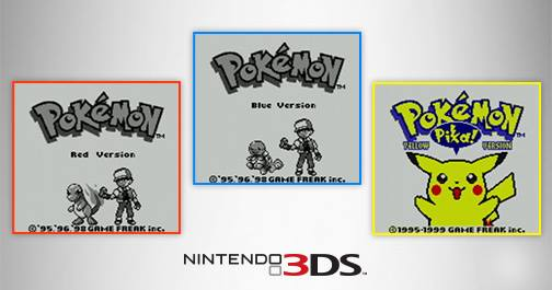 Pokemon Red, Blue And Yellow Coming To 3DS Virtual Console