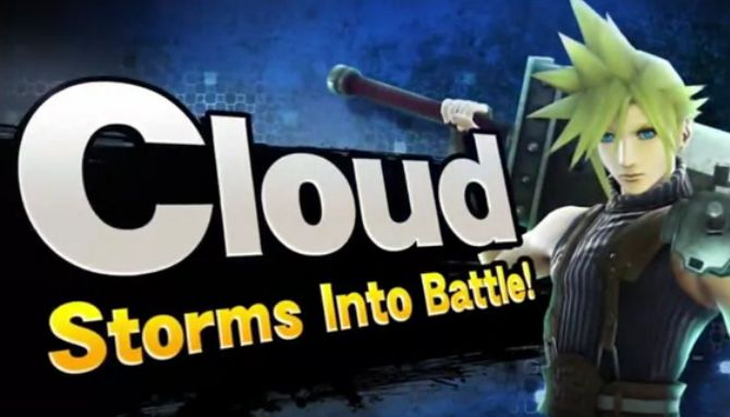 Final Fantasy VII's Cloud Is Coming To Super Smash Bros.