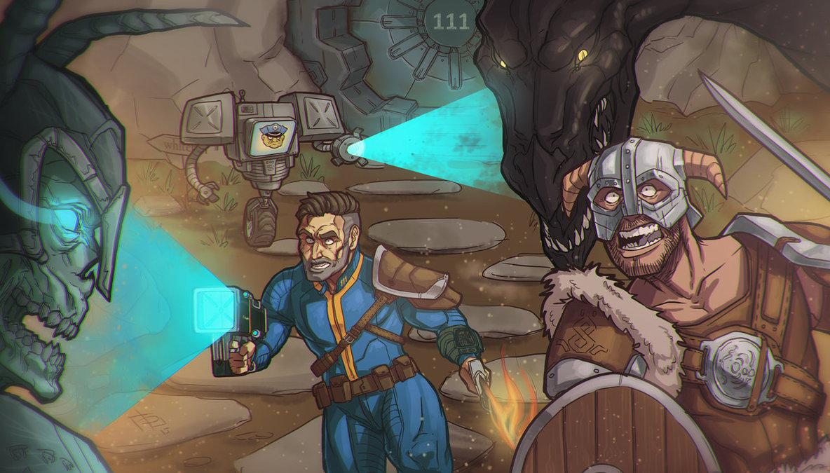 Skyrim - Fallout 4 Crossover - Devolist
