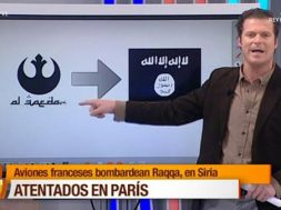 Spanish-TV-reporter-confuses-Star-Wars-symbol-for-al-Qaida-logo