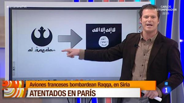 Spanish TV confuses Star Wars Rebels with al-Qaeda
