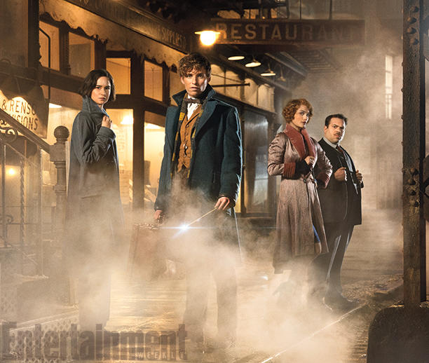 EW Release First Pictures Of Harry Potter Spinoff 'Fantastic Beasts And Where To Find Them'