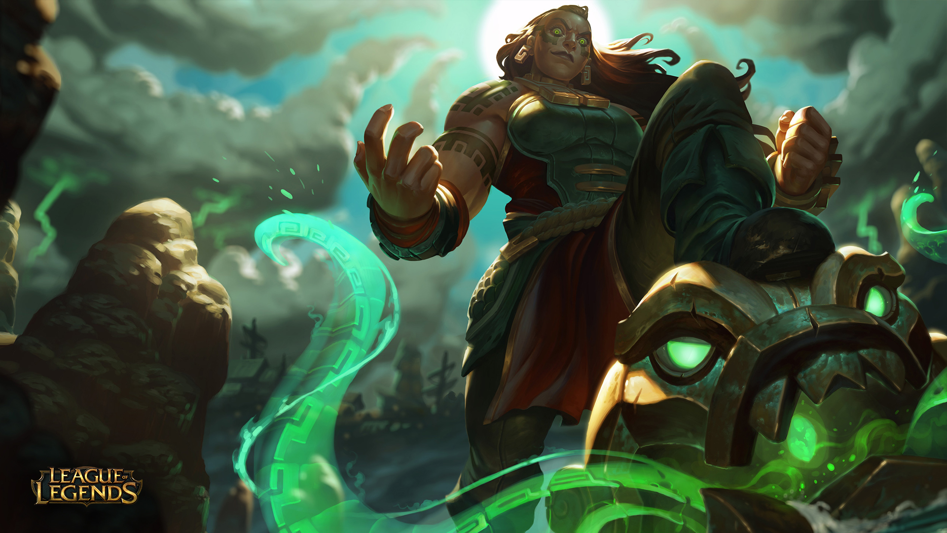 League Of Legends Adds Illaoi, The Kraken Priestess To Its Roster