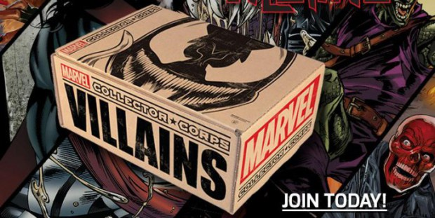 ArcadeTV: Marvel Collector Corps Unboxing – Villains