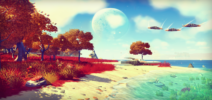 No Man's Sky Played By PlayStation Boss In New Promo