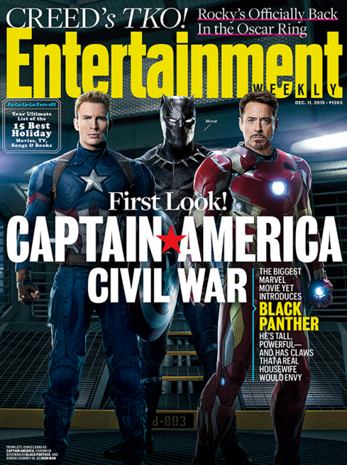Entertainment Weekly Black Panther Cover