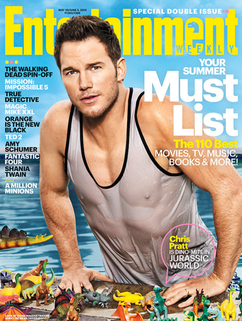 Entertainment Weekly Chris Pratt Cover