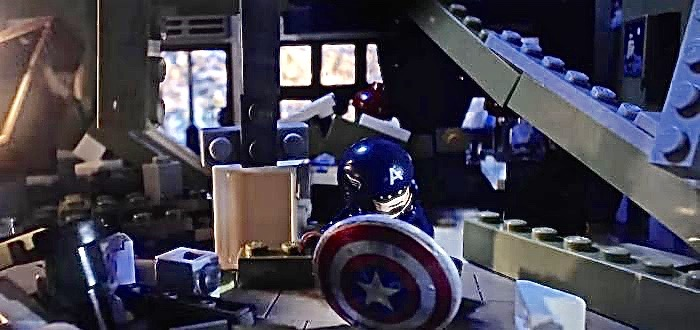 Captain America Takes On Nazi Zombies In Epic Lego Fan Movie