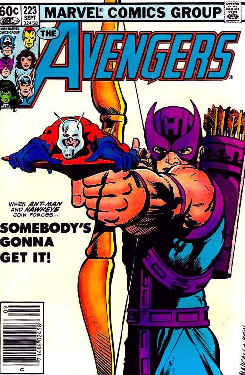 Avengers Hawkeye Ant-Man
