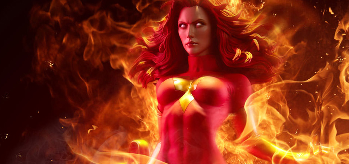 Sideshow Collectibles Unveils New Dark Phoenix Statue And Exclusive