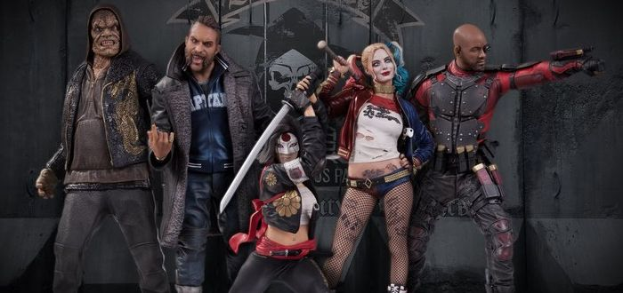 Suicide Squad Statues On The Way