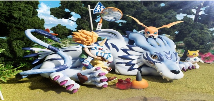 Wizardmon And Gatomon Added To Digimon GEM Figure Line