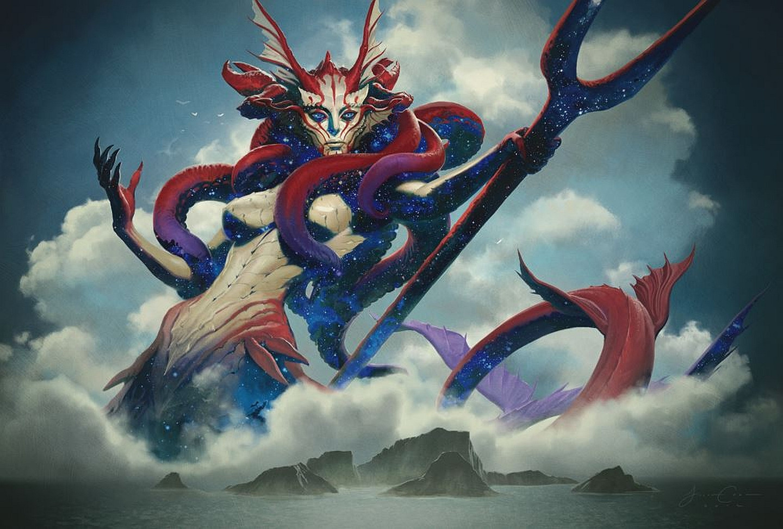 Thassa God of the Sea