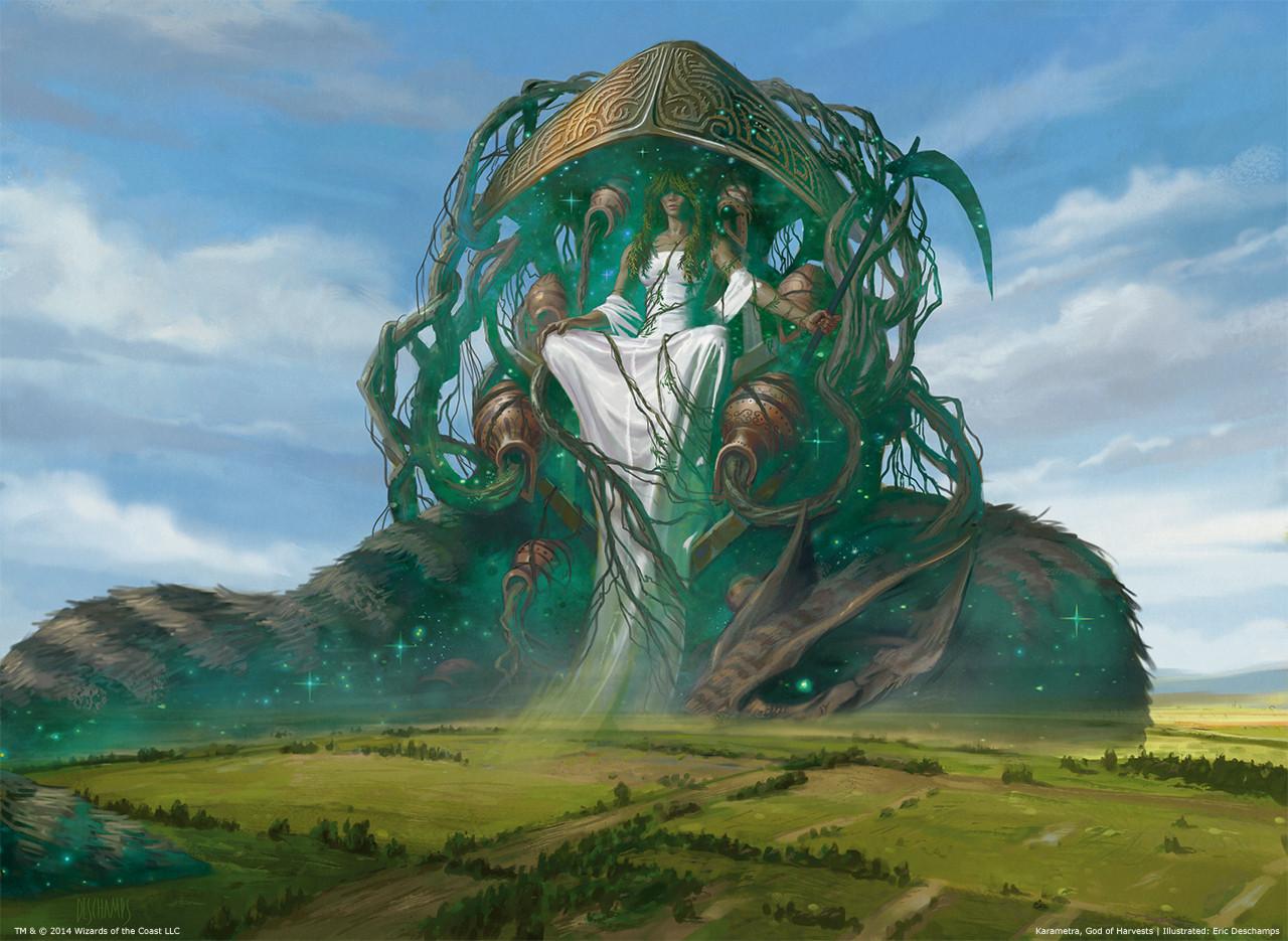 Karametra God of the Harvest