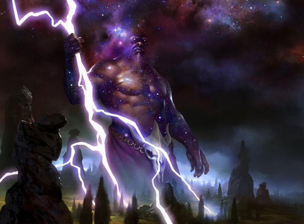 Keranos God of Storms