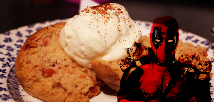 Geek N' Bake Deadpool's Explosive Scones