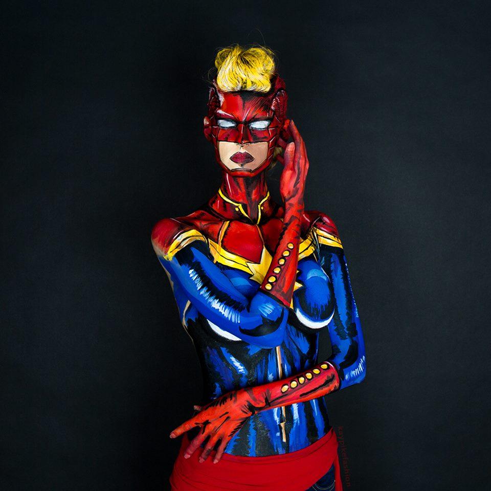 Kay Pike - Captain Marvel