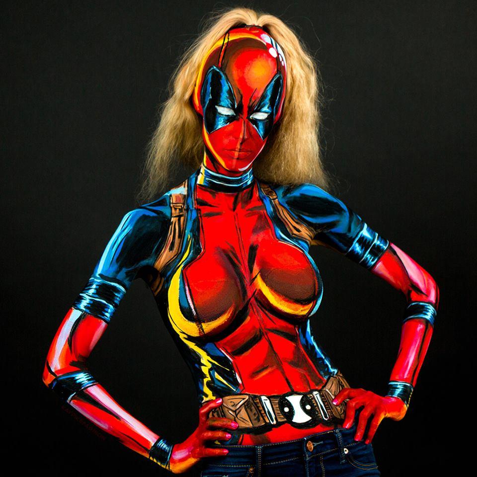 Kay Pike - Lady Deadpool