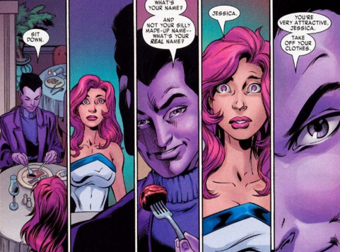 Jessica Jones The Purple Man comic villains