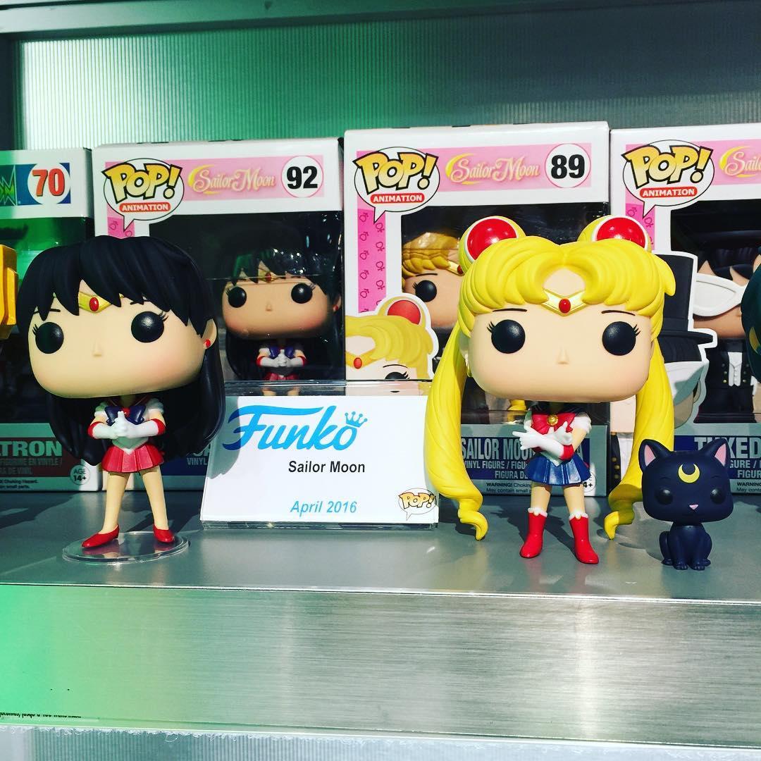 Sailor Moon Pop Vinyls