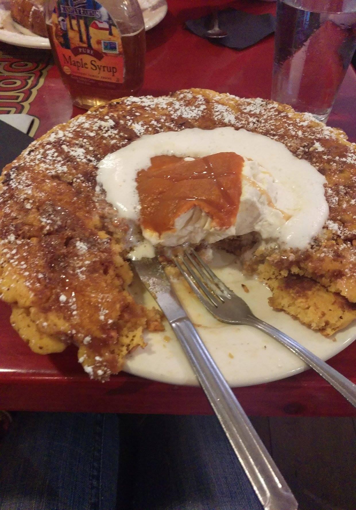 Giant Pumpkin Pancakes