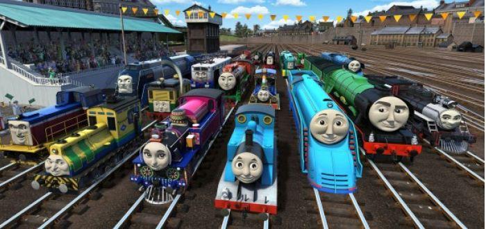 Thomas The Tank Engine Makes International Friends
