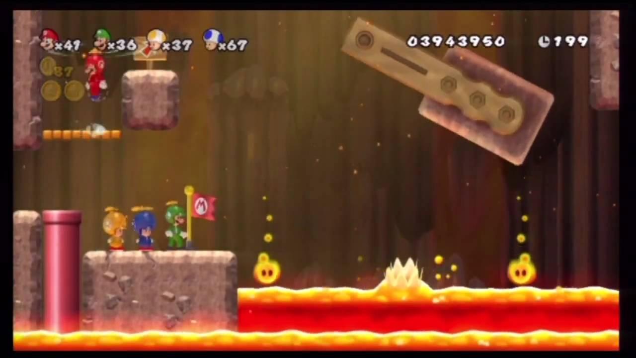 New Super Mario Bros - World 8-6