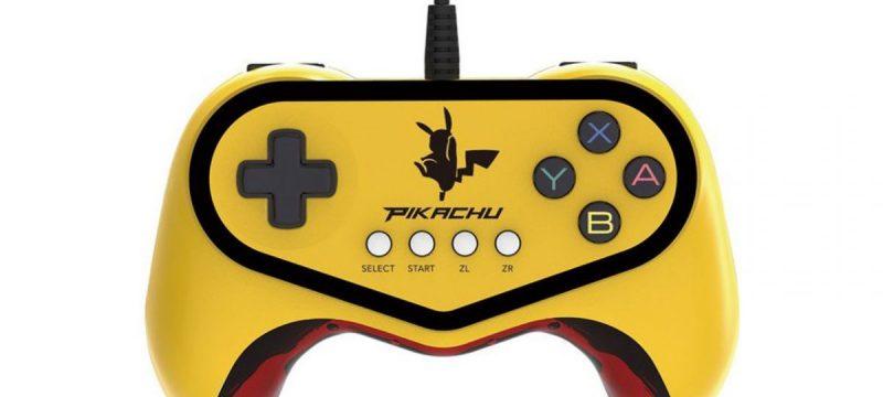 Pikachu Pokken Controller