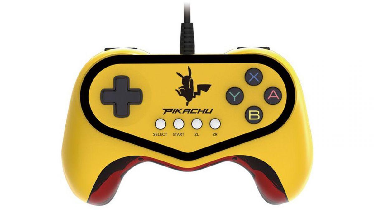 Pikachu Themed Pokkén Tournament Controller