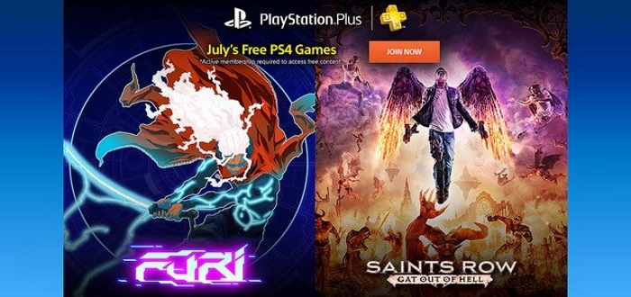 PS Plus July Lineup Announced