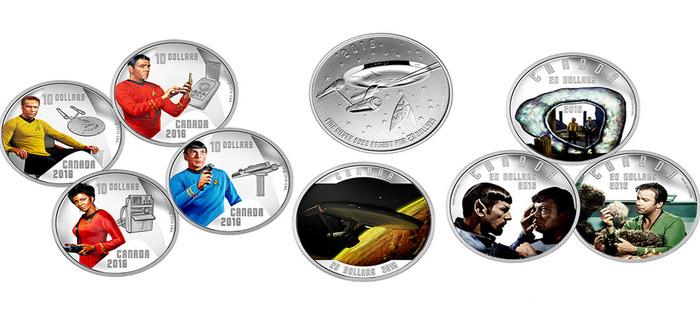 Star Trek Coins