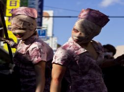 Silent Hill cosplayers at the 2014 Nipponbashi Street Festa in Osaka