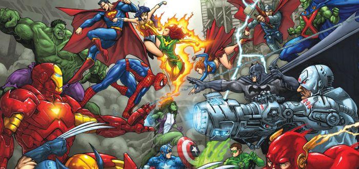 Marvel TV vs DC TV- Knockout