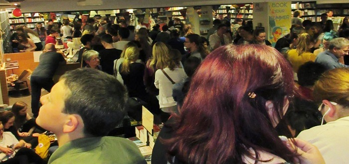 Huge Turnout For Cursed Child Launch In Dublin