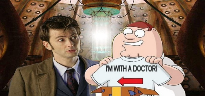 Family Guy Goes Wibbly Wobbly Timey Wimey