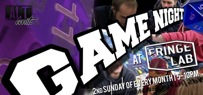 ALT Events Dublin Game Night On This August