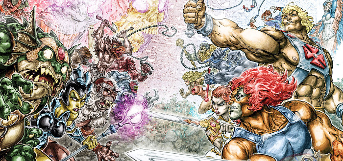 DC To Publish He-Man/Thundercats Crossover Comic