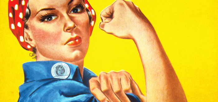 Rosie The Riveter – Style Saturday