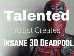 3D Deadpool