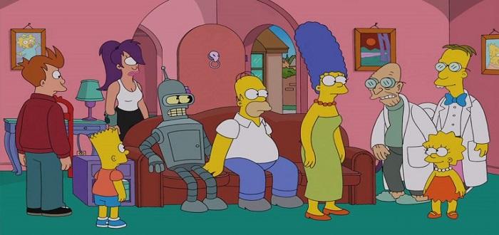 Futurama x Simpsons